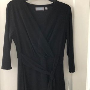 Dresses & Skirts - Black dress with detail on the neckline